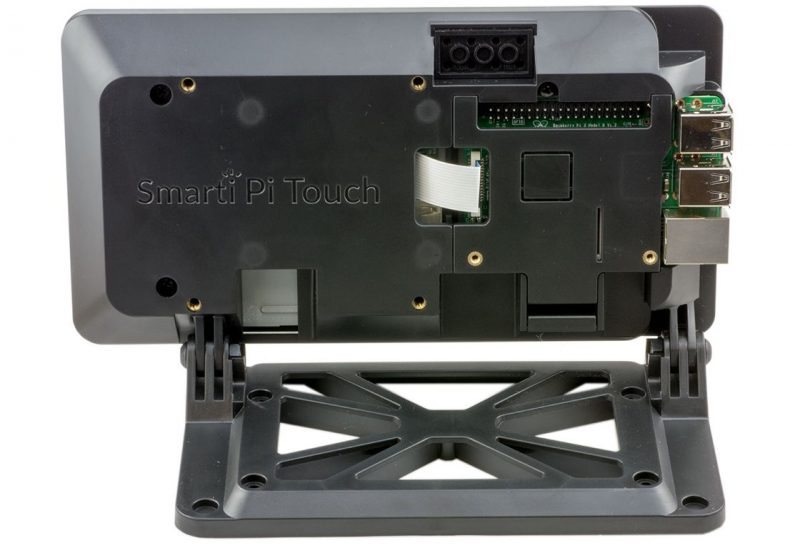 SmartiPi Touch Case for the Official Raspberry Pi 7 inch Display (LEGO)