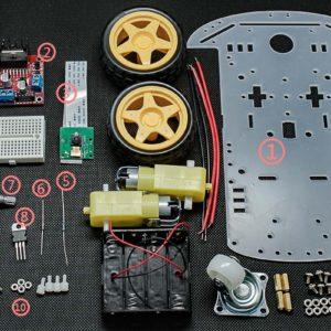 Raspberry Pi Follower Car Starter Kit