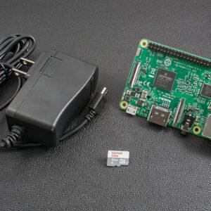 Raspberry Pi 3 + 32G microSD + 5V 2.5A Power Supply