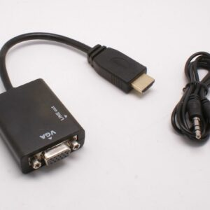 HDMI to VGA Converter with Audio Output 1