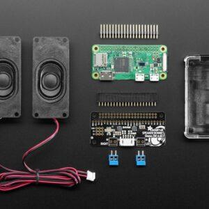 Stereo Bonnet Pack for Raspberry Pi Zero W 1