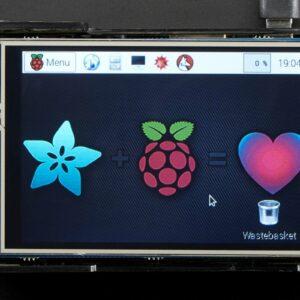 PiTFT Plus 480x320 3.5 TFT plus Touchscreen for Raspberry Pi 1