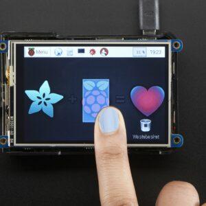 PiTFT Plus 480x320 3.5 TFT plus Touchscreen for Raspberry Pi 2