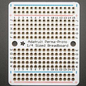 Adafruit Perma Proto Quarter sized Breadboard PCB 3 Pack 3