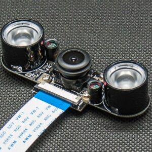 5mp adjust focus noir fisheyes camera 3w infrared led boardx2 s