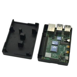 aluminum case with dual cooling pillar for pi 4 06